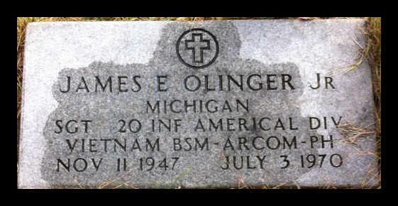 Sgt James Olinger -